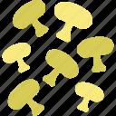 cooking, kitchen, mushrooms icon