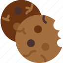 cookies, food, meal icon