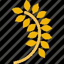 grain, oat, seed icon