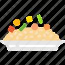 food, rice, risotto icon