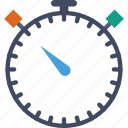 stopwatch, timer, watch icon