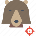animal, bear, wild icon