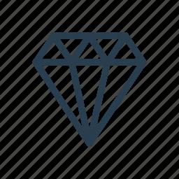 diamond, gem, gemstone, jewel icon