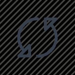 arrows, data, network, reload, sync icon