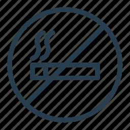 cigarette, no smoking, non smoking area, sign, smoke icon