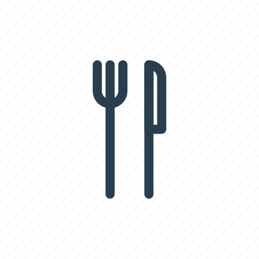 cutlery, food, kitchen, knife, plug, silverware, tableware icon