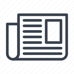 article, business, newspepper, personal, sheet icon