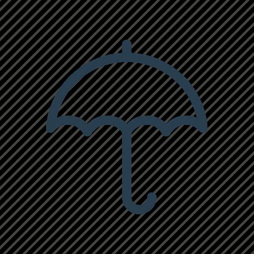 drizzle, rain, rainfall, rainstorm, shower, sunshade, umbrella icon