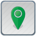 app, gps, locaiton, pointer icon