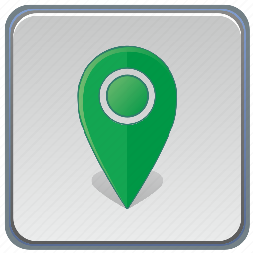 app, gps, locaiton, pointer icon