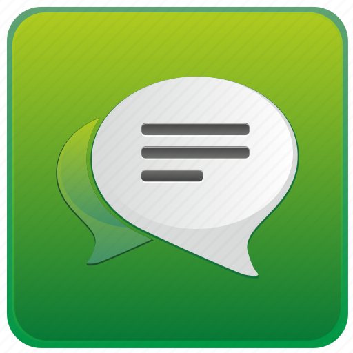 app, dialog, message, messenger, mobile, smartphone icon