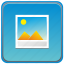app, mobile, photo, smartphone, view icon