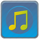 app, mobile, music, smartphone, sound icon