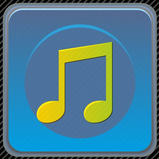 app, mobile, music, smartphone, sound icon