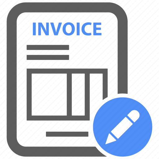 billing, compose, edit, invoice, pen, report, settings icon