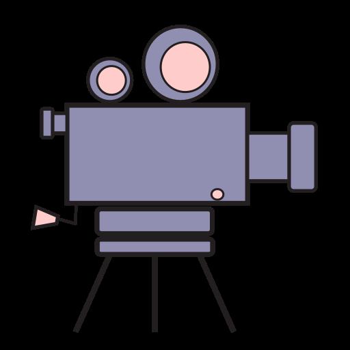 cam, camcorder, camera, movies, video icon