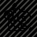 arrow, cash, lightbulb, money, thought icon