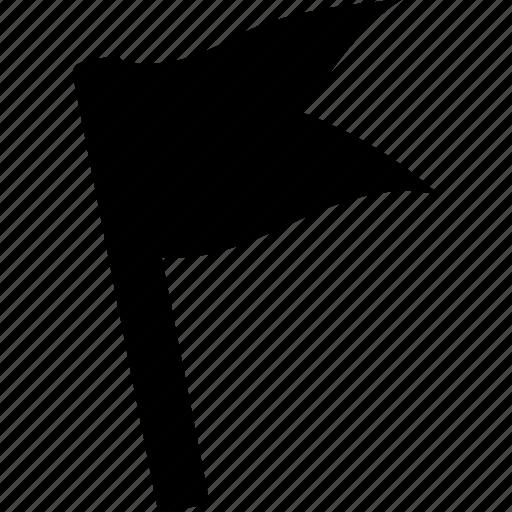 banner, flag, pennant, standard icon