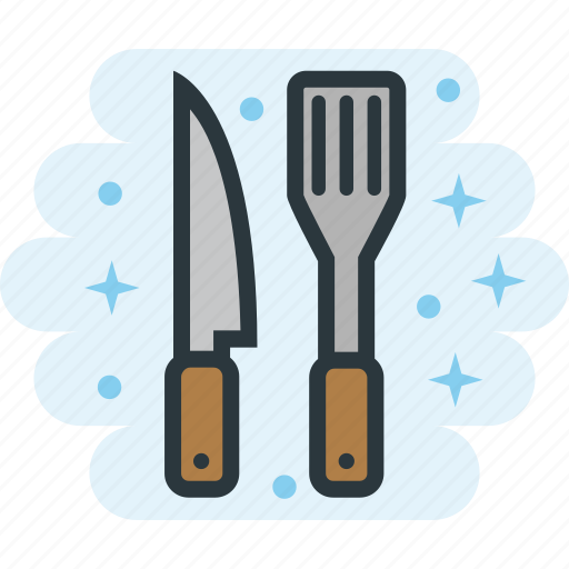 Cooking, kitchen, knife, spatula icon - Download on Iconfinder