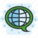 global, language, translate, translation icon