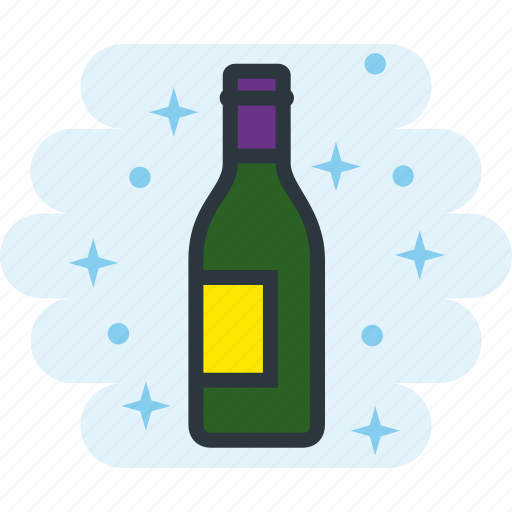 alcohol, bottle, drink, drinking, wine icon