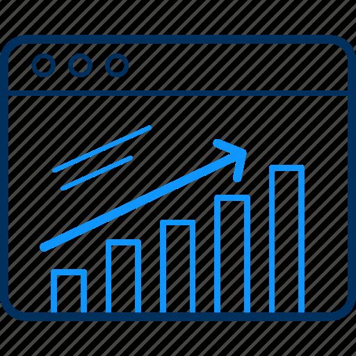 analytics, business, chart, graph, pie, report, statistics icon