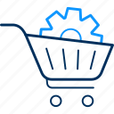 cart, settings, buy, ecommerce, setting, shipping, shopping
