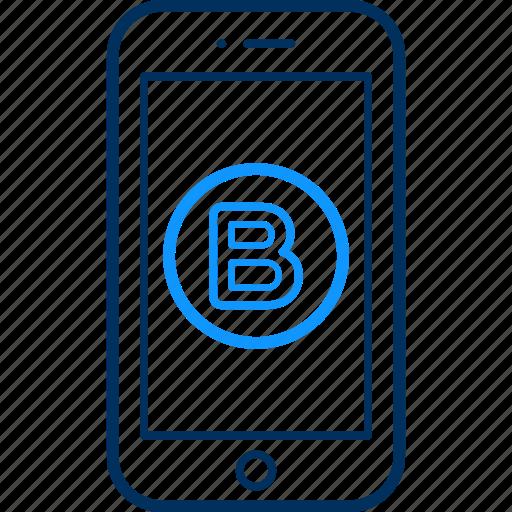 device, mobile icon