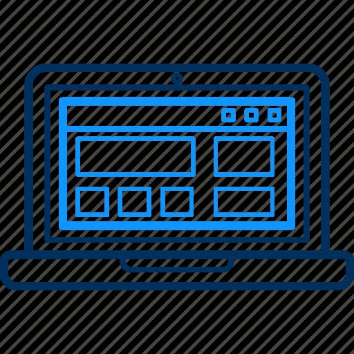 web, website icon