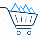 basket, business, buy, cart, items, shop, shopping icon