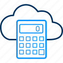 calculator, climate, estimation, forecast, weather icon