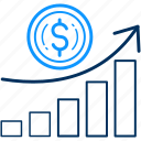 analysis, analytics, business, chart, diagram, growth, revenue icon