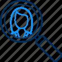search, female