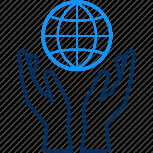save, world icon