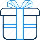 birthday, box, celebration, courier, gift, item, present icon