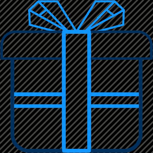 birthday, box, celebration, courier, gift, item, present icon
