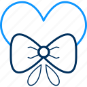 bow, love icon