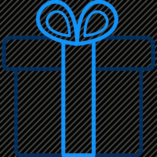 celebration, gift, party, present icon