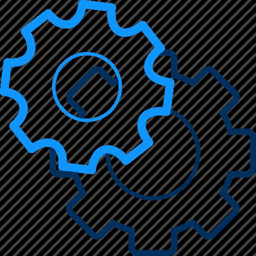 configuration, options, preferences, procedure, process, setting, settings icon