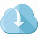 backup, cloud, download, file, storage, upload icon