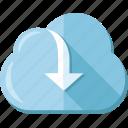 backup, cloud, download, file, storage, upload icon