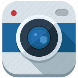 application, camera, lens, photo, picture, record, travel icon