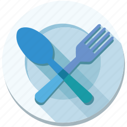 dish, eat, food, fork, menu, plate, restaurant icon