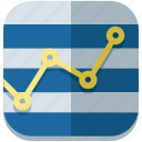chart, graph, presentation, progress, results, statistics, stats icon