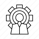 configuration, mixed, settings icon