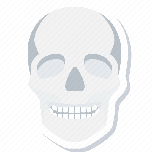 expression, face, head, human, skull icon