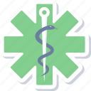 medical, sign, asclepius, care, health, healthcare, hospital icon
