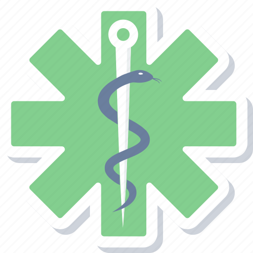 asclepius, care, health, healthcare, hospital, medical, sign icon