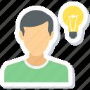 idea, bulb, creative, electricity, innovation, light, lightbulb