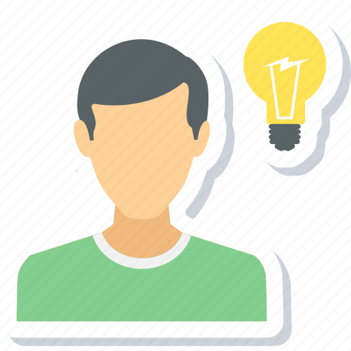 Idea, bulb, creative, electricity, innovation, light, lightbulb icon - Download on Iconfinder